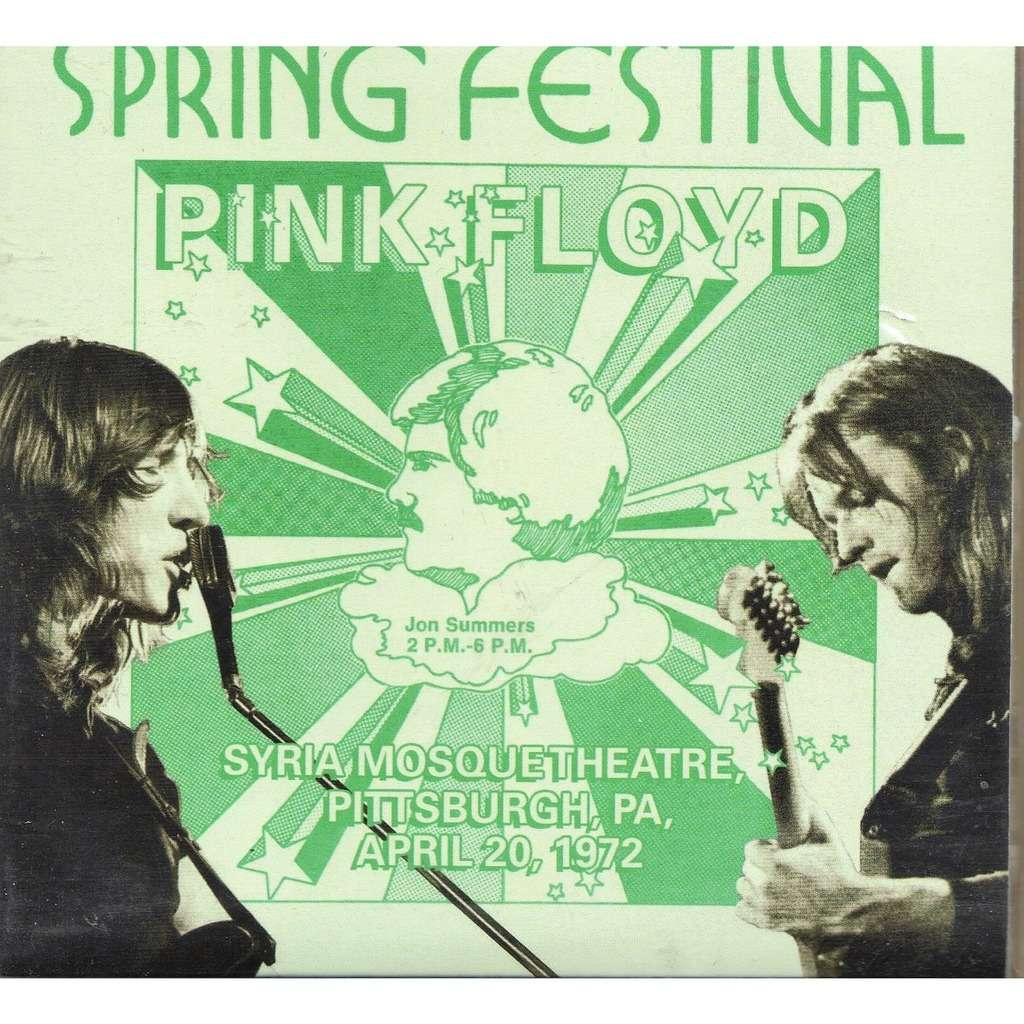 Pink Floyd Spring Festival (Syria Mosque Theatre Pittsburgh PA USA 20.04.1972)
