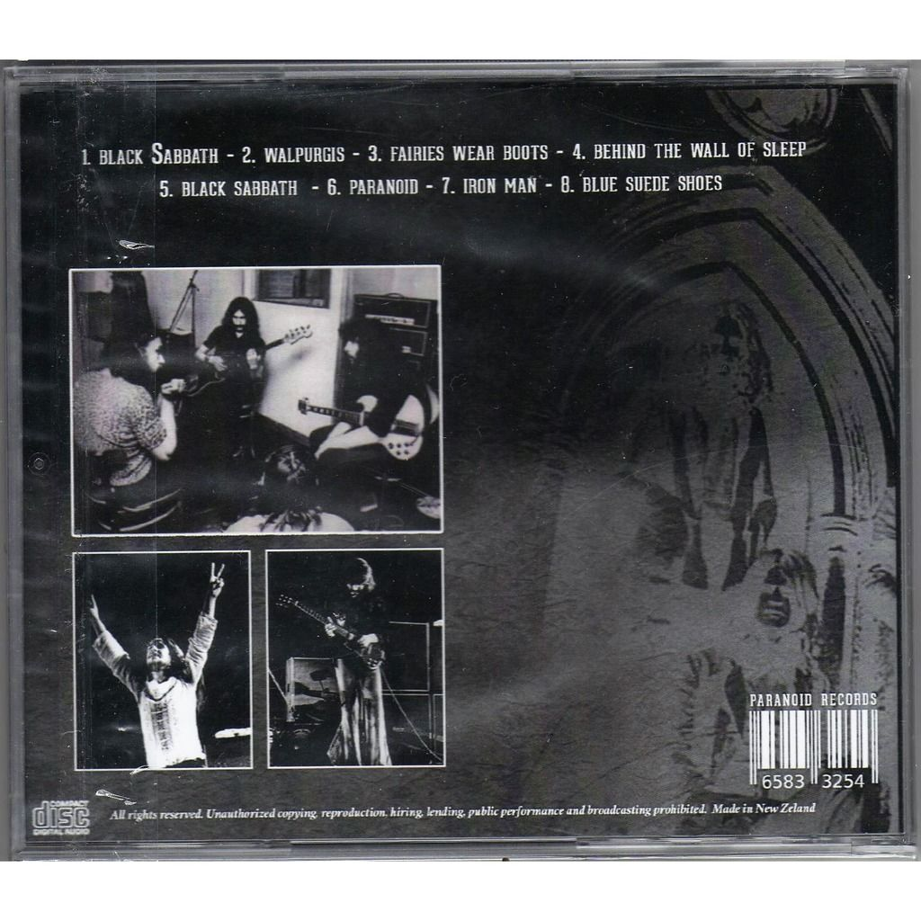 Black Sabbath Walpurgis (Peel Session & Beat Club TV 1970)