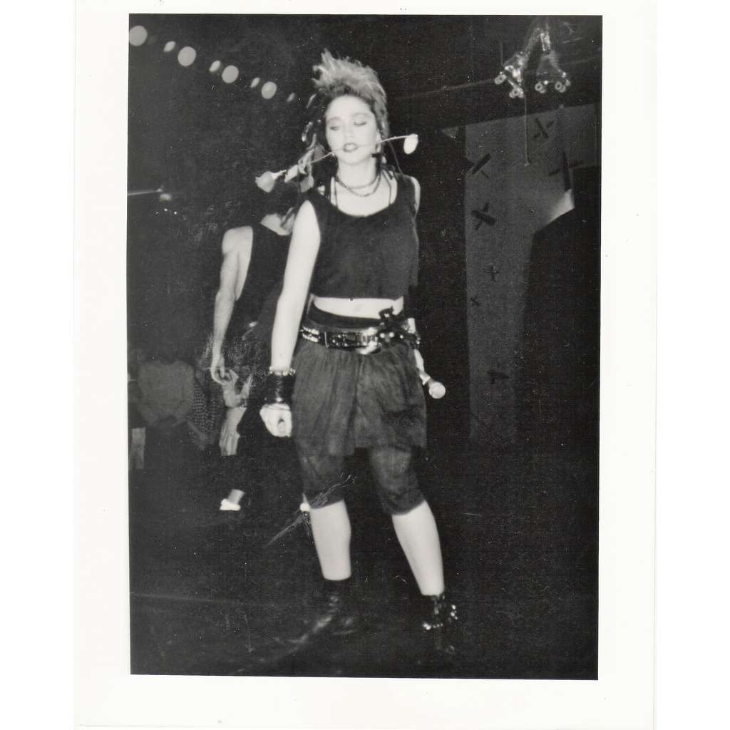 Madonna Madonna (Usa 80s original 'London Features' promo photo by Angie Coqueran)