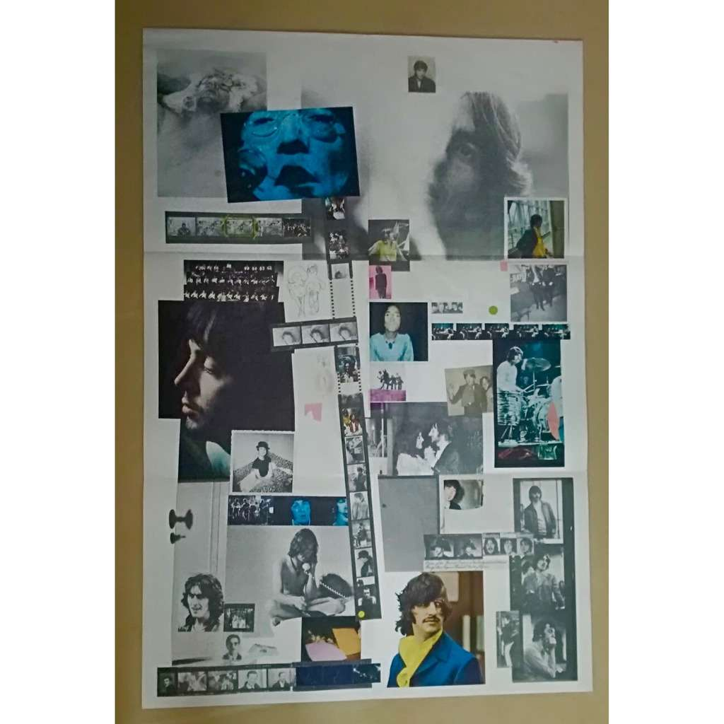 the beatles the beatles poster double blanc