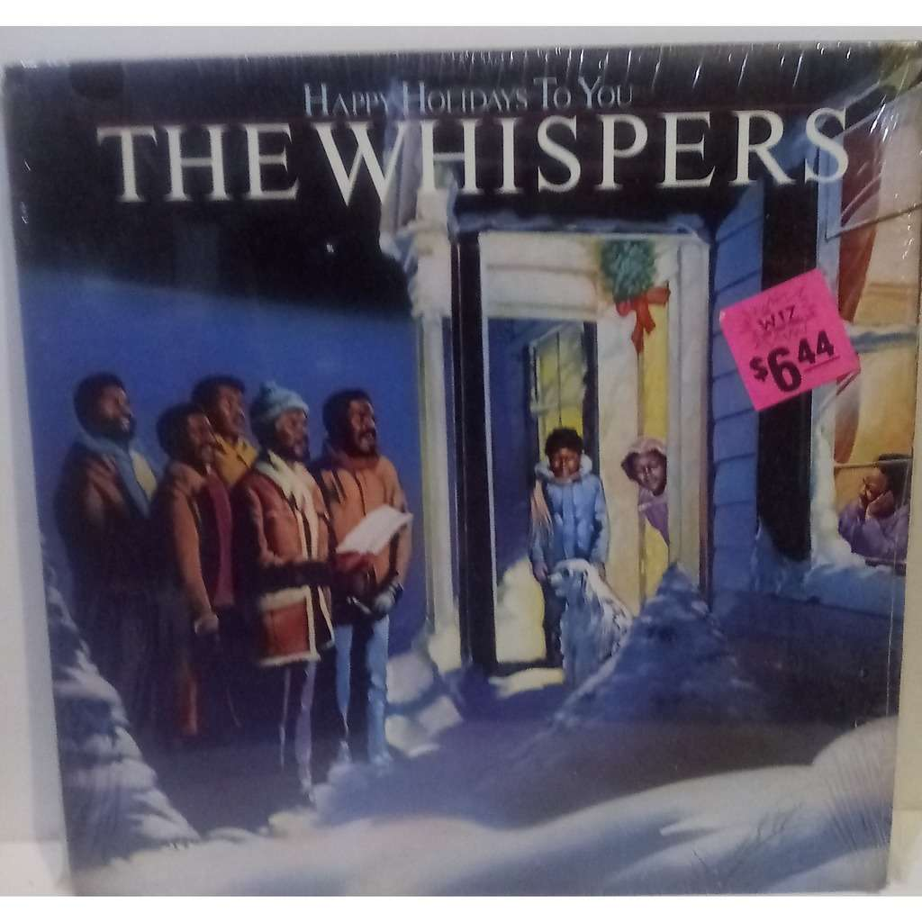 THE WHISPERS HAPPY HOLIDAY TO YOU