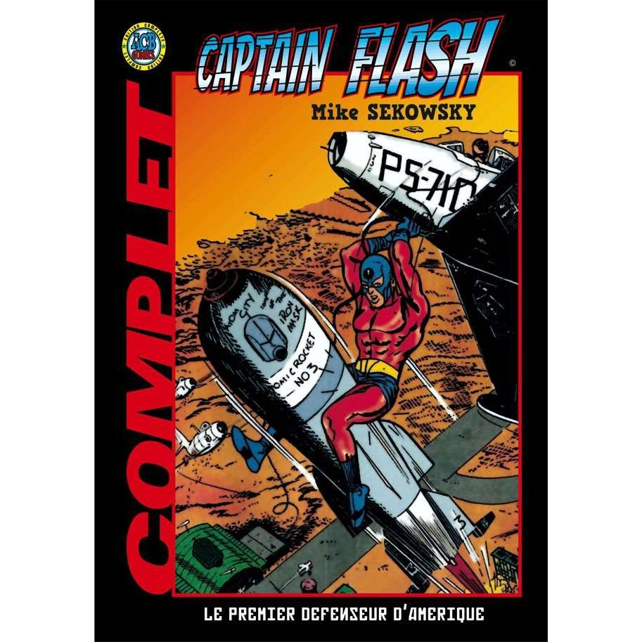 Âge D'or Captain FLASH • Complet