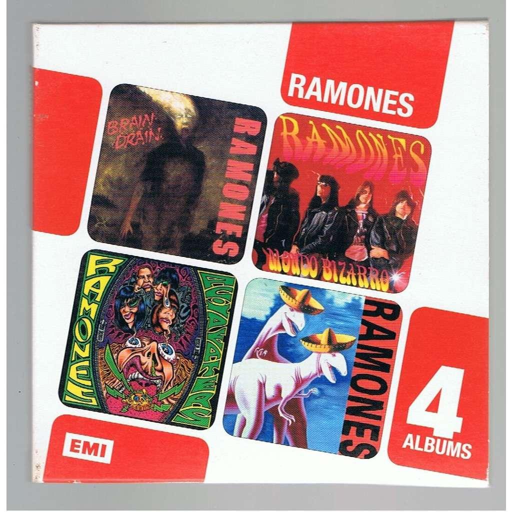 RAMONES RAMONES 4 ALBUMS -digipack-