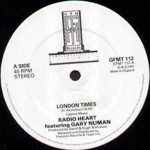 radio heart,gary numan london times