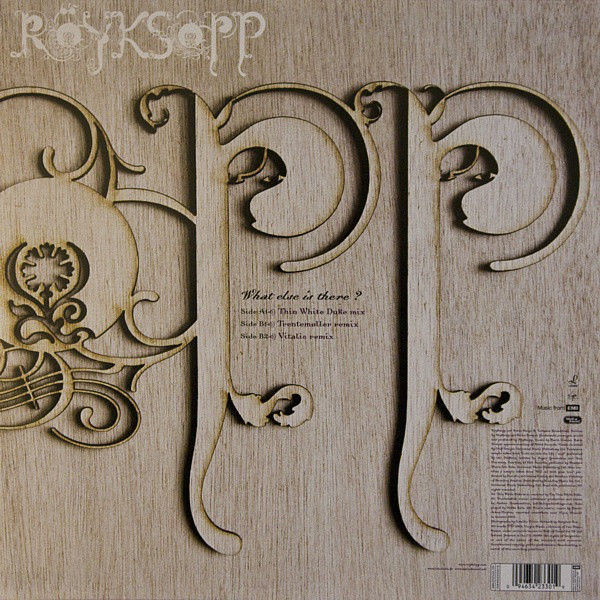 royksopp What Else Is There?