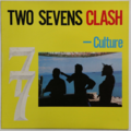 CULTURE - Two Sevens Clash (Reggae) - 33T