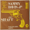 SAMMY DAVIS JR - John Shaft +1 (Soul) - 45T (SP 2 titres)