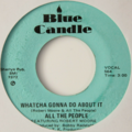 ALL THE PEOPLE - Cramp Your Style +1 (Funk/Breaks) - 45T (SP 2 titres)