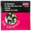 THE CRYSTALS - On Broadway +3 (Soul) - 45T (EP 4 titres)