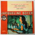 JACQUELINE BOYER - Excusez-moi Si J'ai Vingt Ans + 3 - 45T (EP 4 titres)