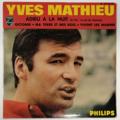 YVES MATHIEU - Adieu A La Nuit +3 - 45T (EP 4 titres)