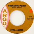 ETTA JAMES - Breaking Point (Soul) - 45T (SP 2 titres)