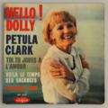 PETULA CLARK - Hello ! Dolly +3 - 45T (EP 4 titres)