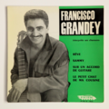 FRANCISCO GRANDEY - Sur Un Accord De Guitare +3 - 45T (EP 4 titres)