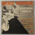 NICOLE CROISILLE - Chante Pierre Barouh et Francis Lai - 45T (EP 4 titres)