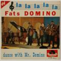 FATS DOMINO - La La La La La +3 - 45T (EP 4 titres)