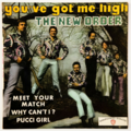 THE NEW ORDER - You've Got Me High +3 - 45T (EP 4 titres)