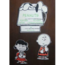 SNOOPY - Mobile Snoopy Peanuts (Objet Publicitaire Des Années 70) bon état, chacune des trois parties fait en - Coffret 5BD Moyen format