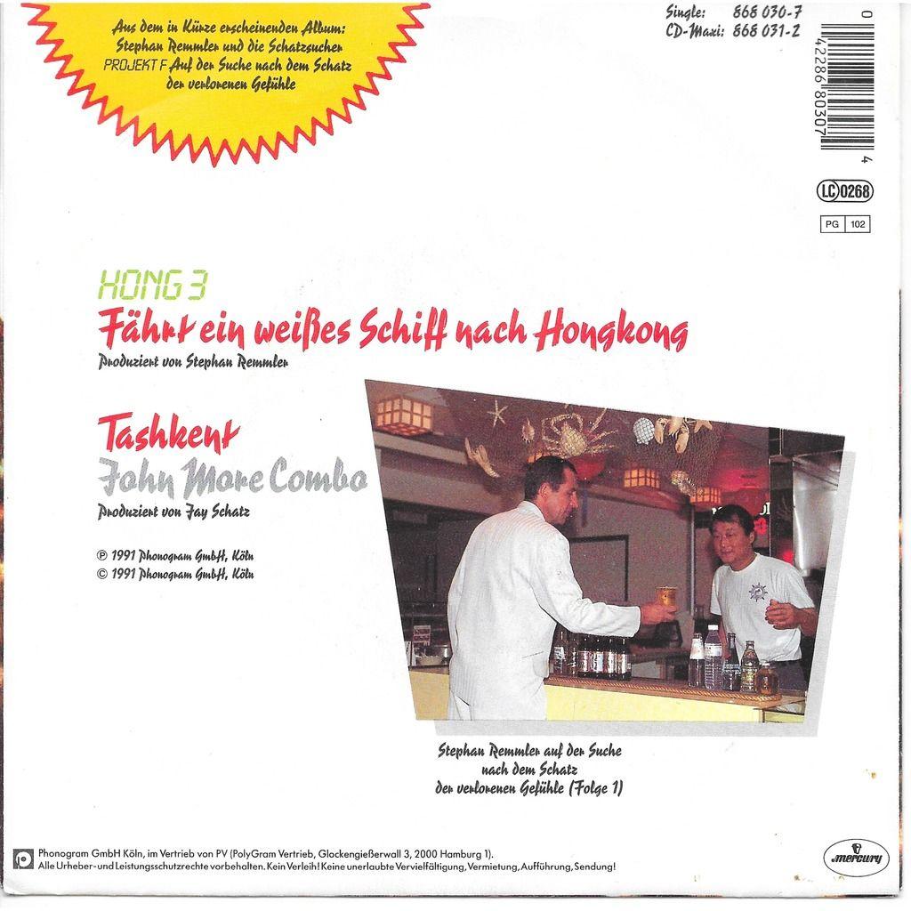 Hong 3 - John More combo ( Remmler ) Farhrt ein weisses schiff nach hongkong - Tashkent