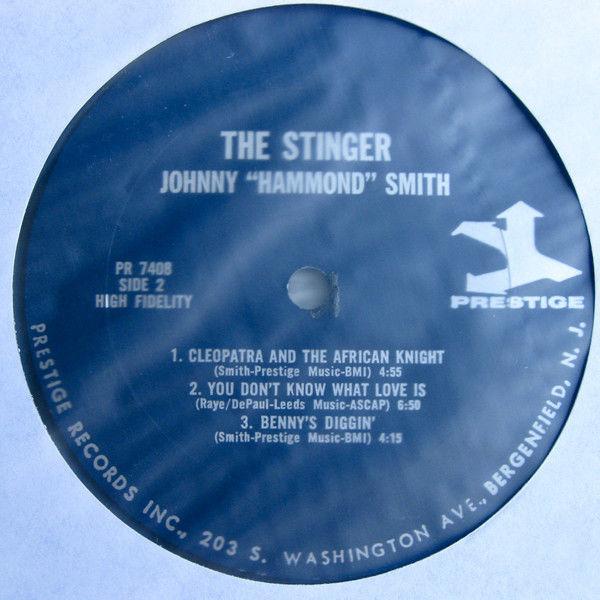 Johnny Hammond Smith The Stinger