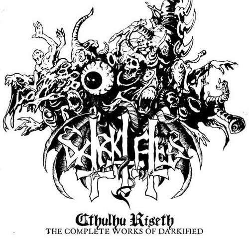 DARKIFIED Cthulhu Riseth - The Complete Works. Black Vinyl
