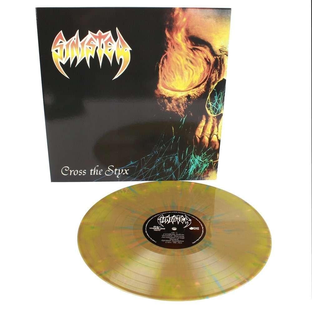 SINISTER Cross The Styx. Splatter Vinyl