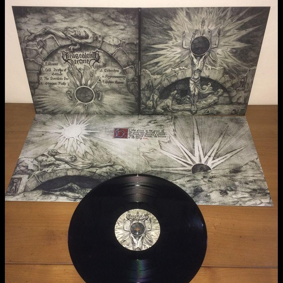 TRAGEDIENS TRONE Tragediens Trone. Black Vinyl
