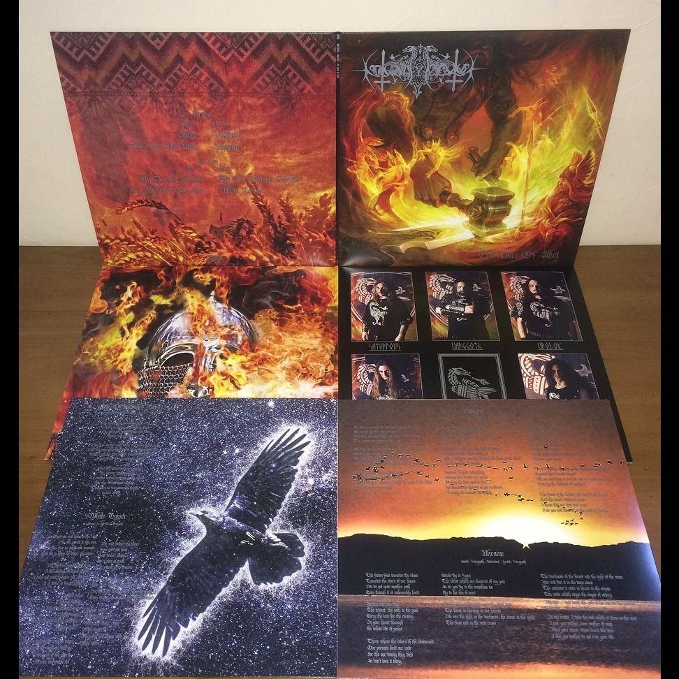 NOKTURNAL MORTUM The Voice of Steel. Orange Galaxy Vinyl