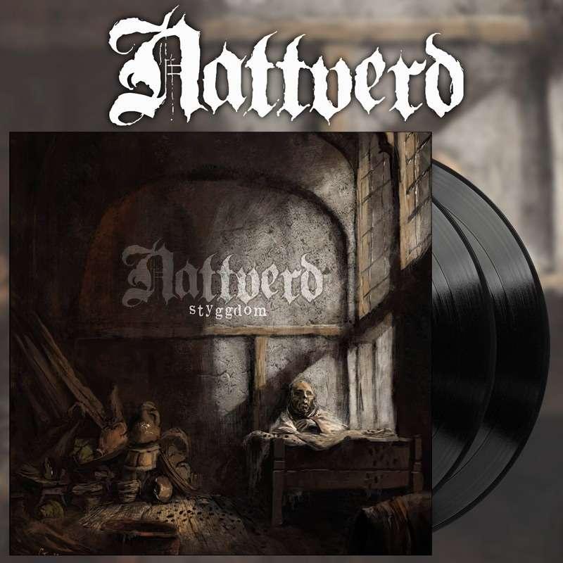 NATTVERD Styggdom. Black Vinyl