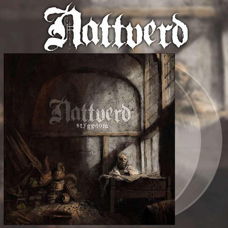 NATTVERD Styggdom. Clear Vinyl