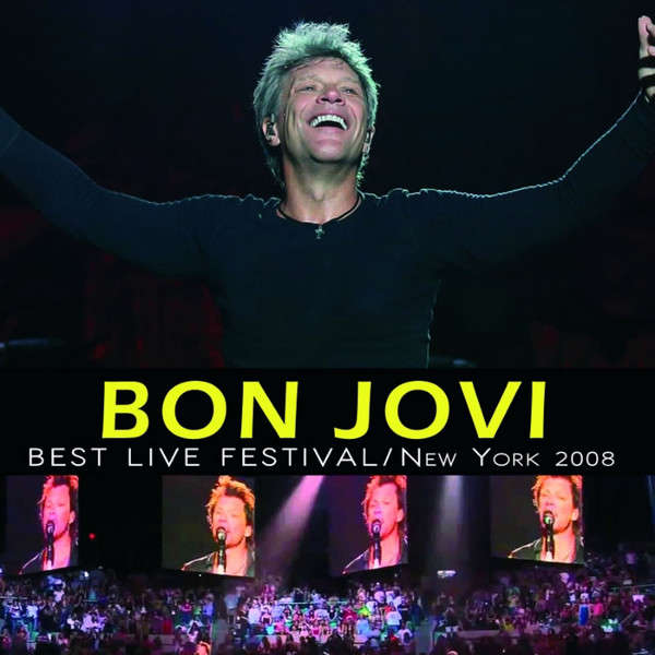Bon Jovi Best Live Festival New York 2008 (lp) Ltd Edit -Argentina