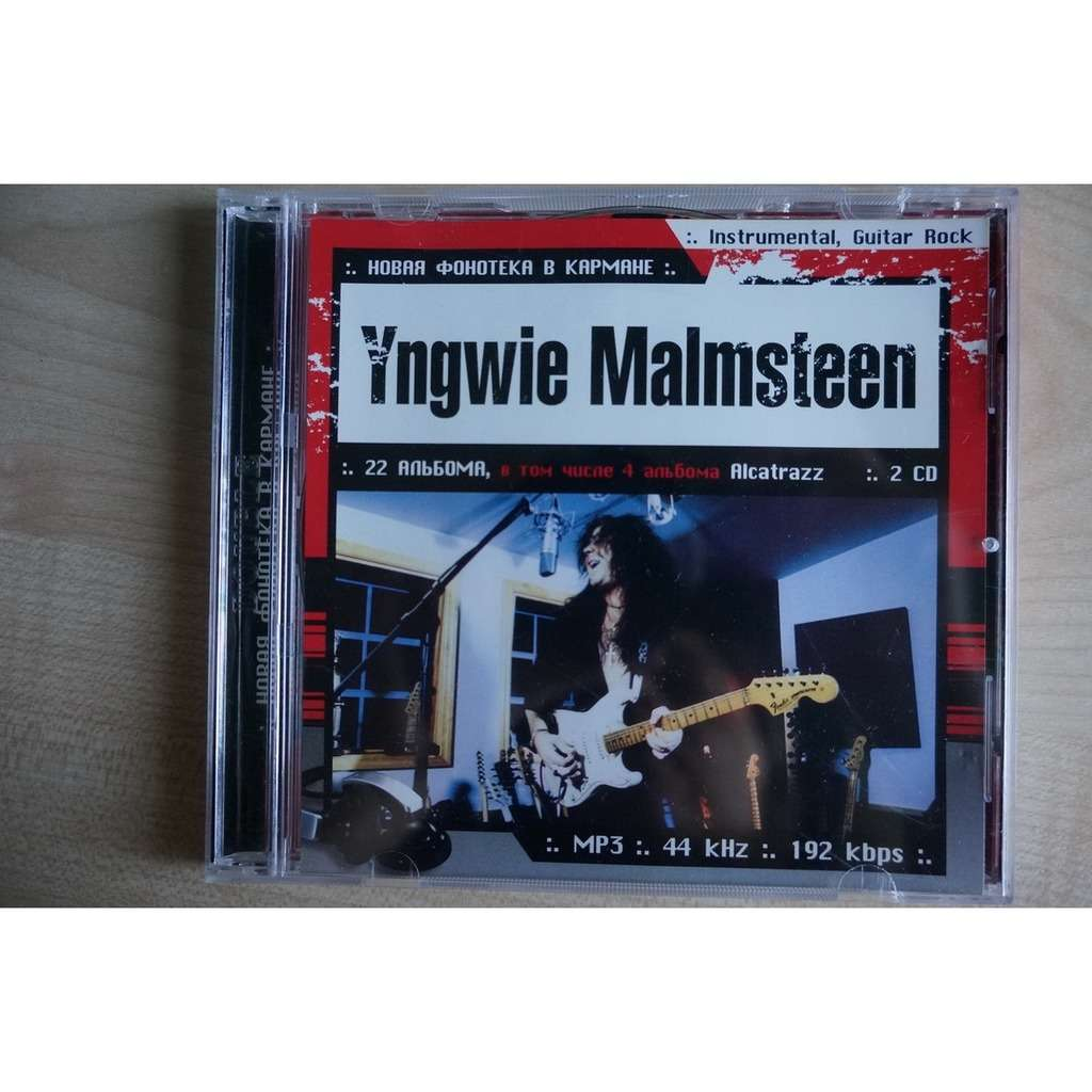 Yngwie Malmsteen MP3 Collection, part 1-2 (2 CD)