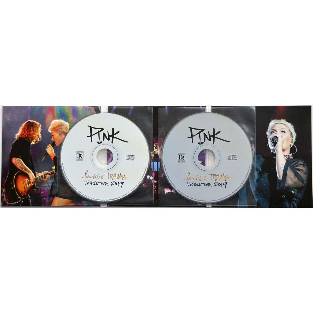 pink (P!nk) Live Rock In Rio Festival Brazil 5 October 2019 Beautiful Trauma Tour 2CD Digipack