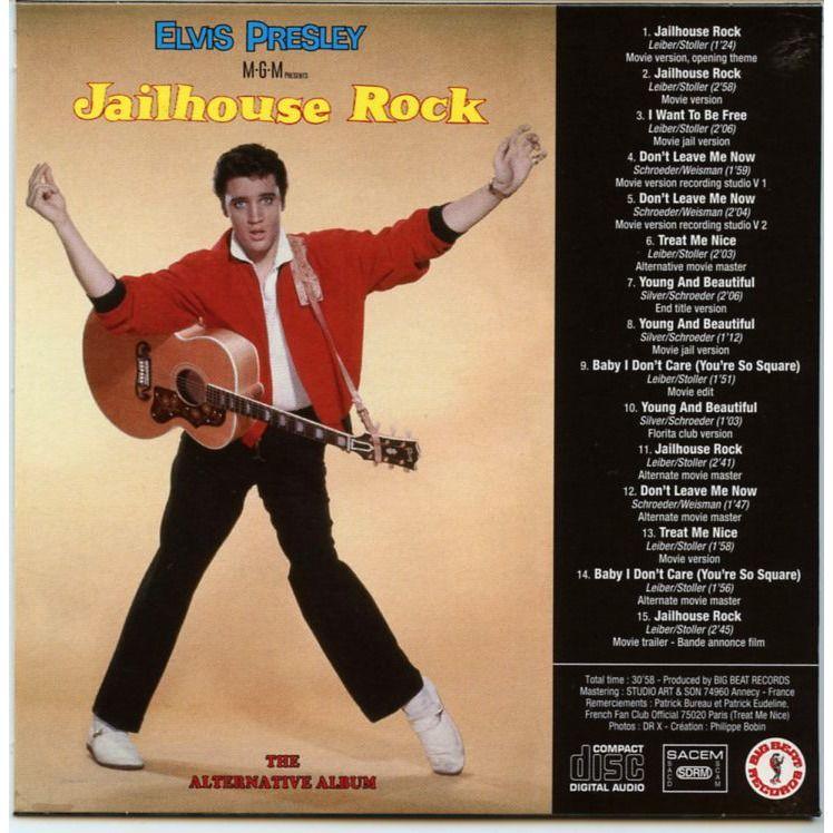 elvis presley Jailhouse Rock - The alternative album