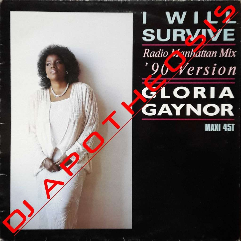 GLORIA GAYNOR I will survive (Remix 90)