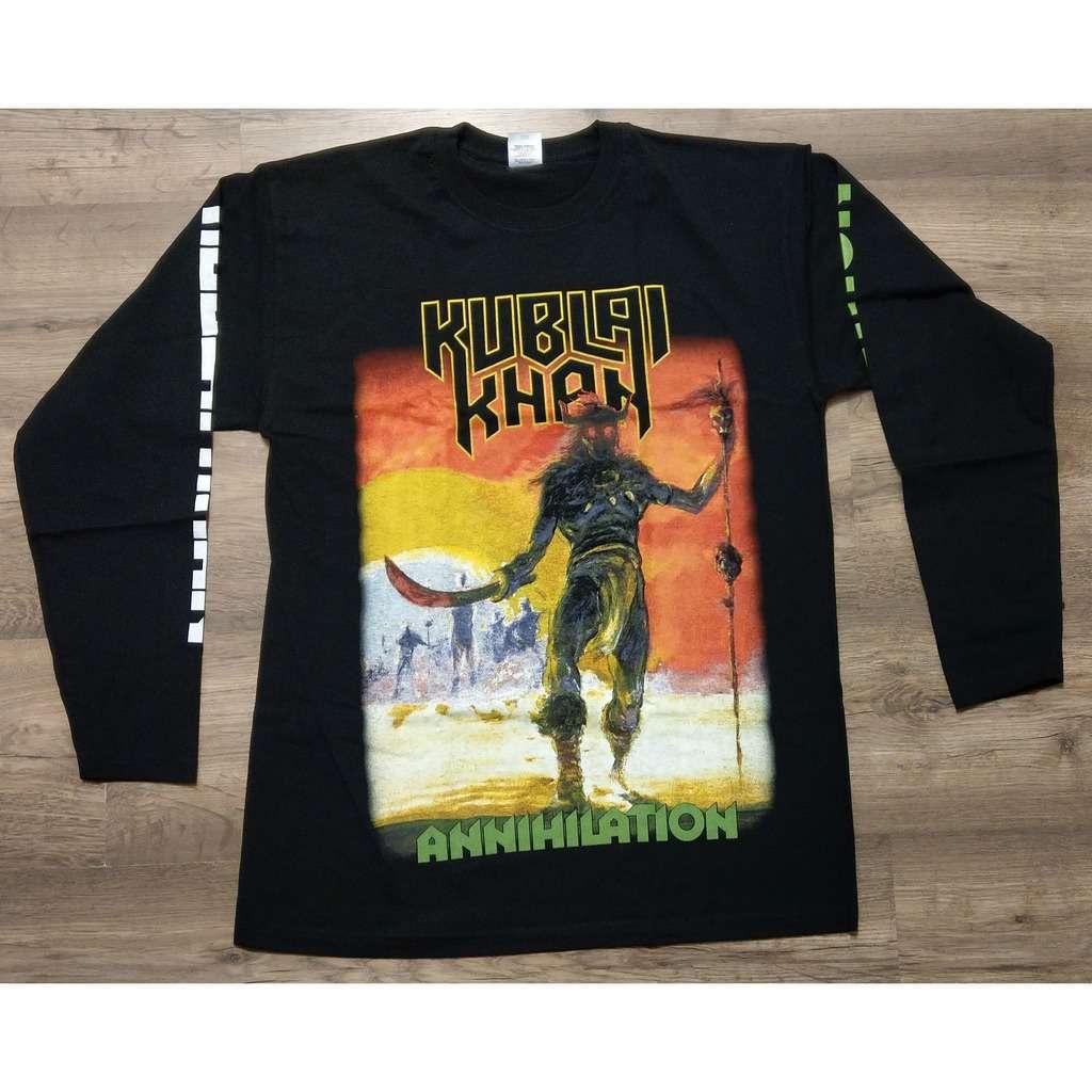 KUBLAI KHAN Annihilation (Longsleeve T-Shirt)