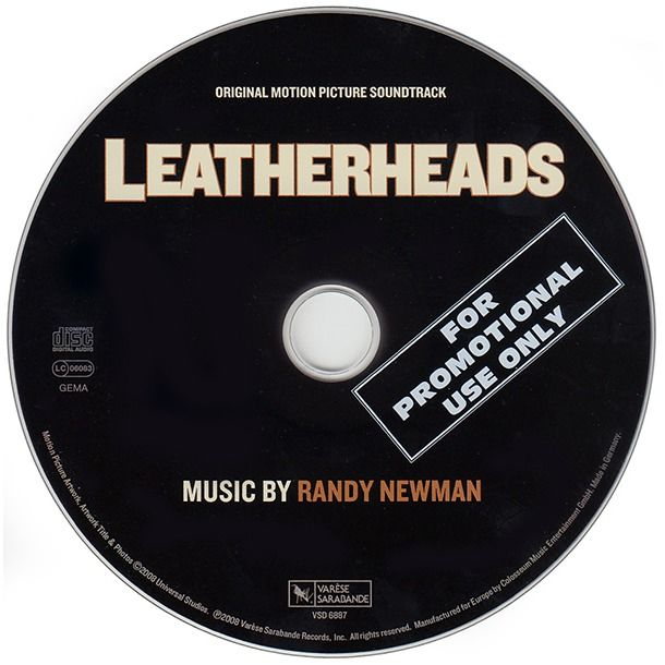 Randy Newman Leatherheads (Original Motion Picture Soundtrack)
