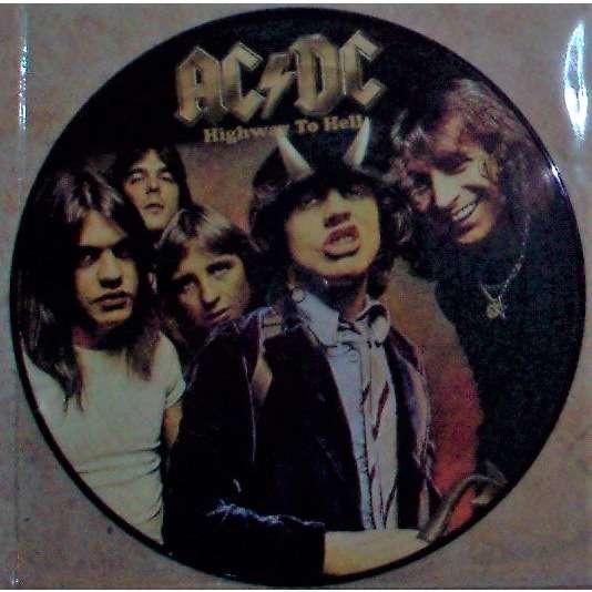 AC/DC Highway To Hell (Australia Ltd re 10-trk LP Picture Disc PVC slv!)