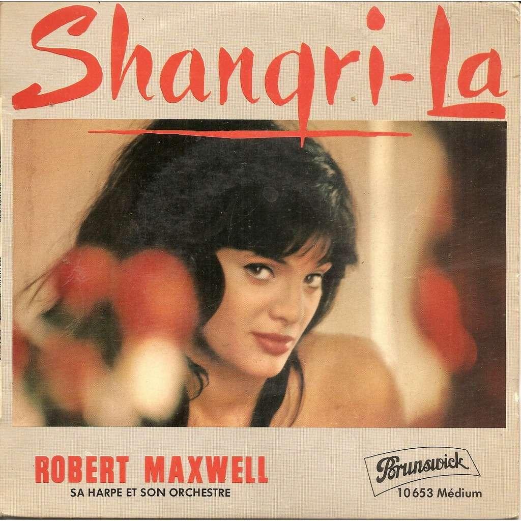 Robert MAXWELL sa harpe et son orchestre Shangri-La