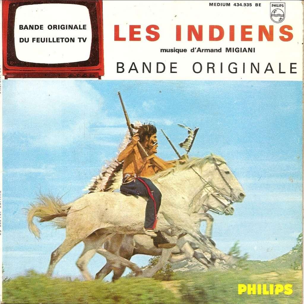 Armand MIGIANI Les Indiens