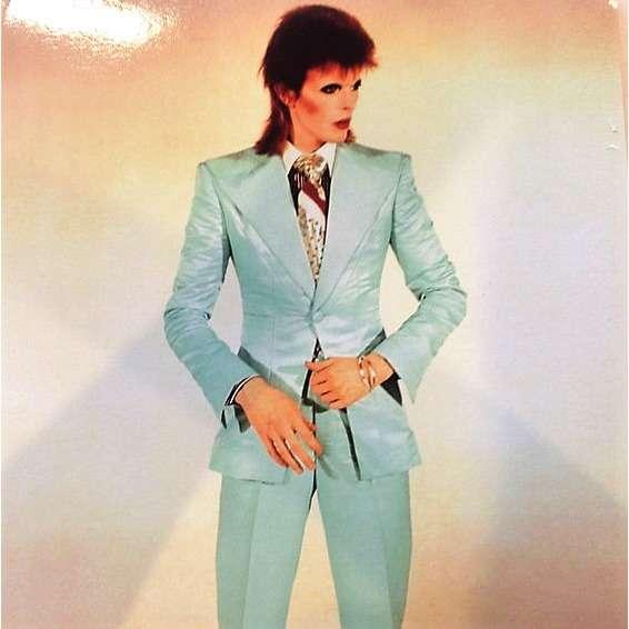 David Bowie Unreleased Demos 1966-1970 (Japan 2014 Ltd 'Fan Club' 14-trk LP Picture Disc deluxe ps)