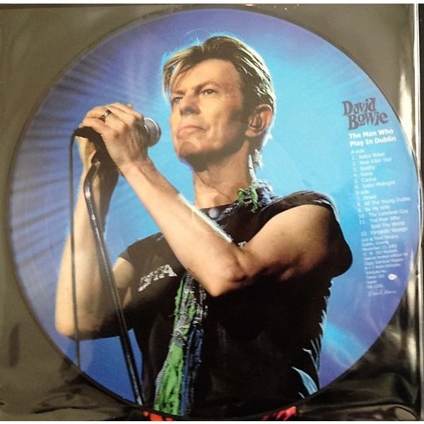 david bowie The Man Who Play In Dublin (Point Theatre Dublin Ireland 23.11.2003)