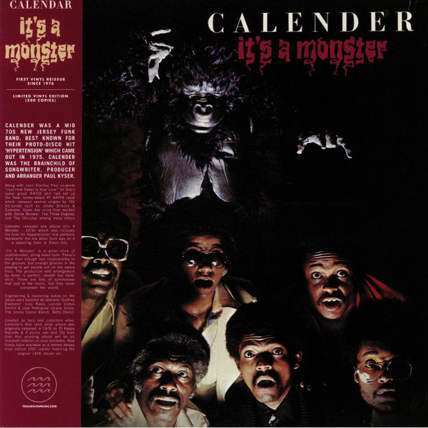 Calender It's A Monster (Funk)