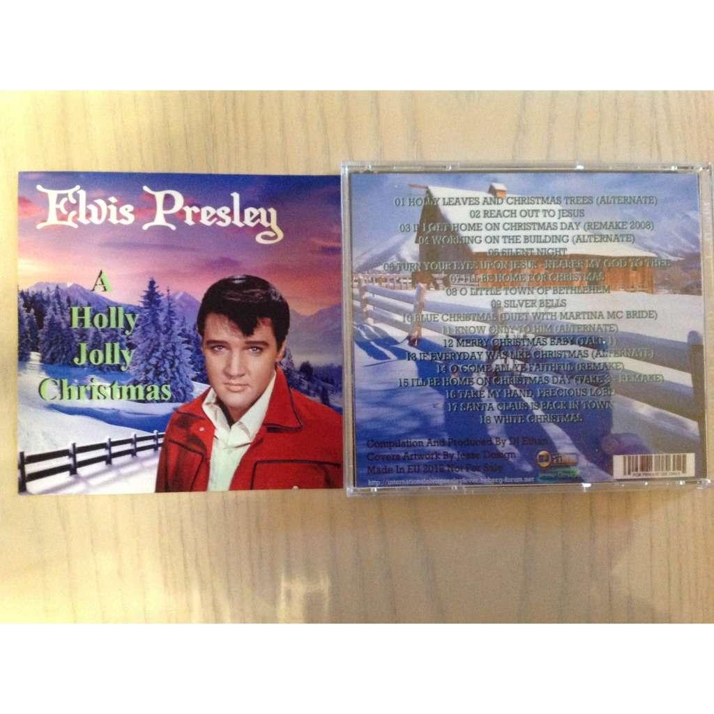 elvis presley 001 cd a holly jolly christmas 18 unreleased versions