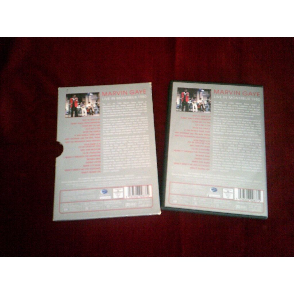 Marvin Gaye - Live In Montreux 1980 - DVD Live In Montreux 1980 - Marvin Gaye - DVD