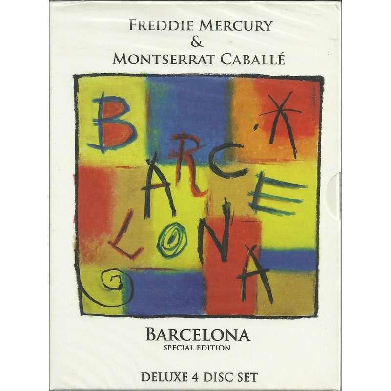 Freddie Mercury & Montserrat Caballé Barcelona (Special Edition) (Digipak in slipcase) 3xCD+DVD