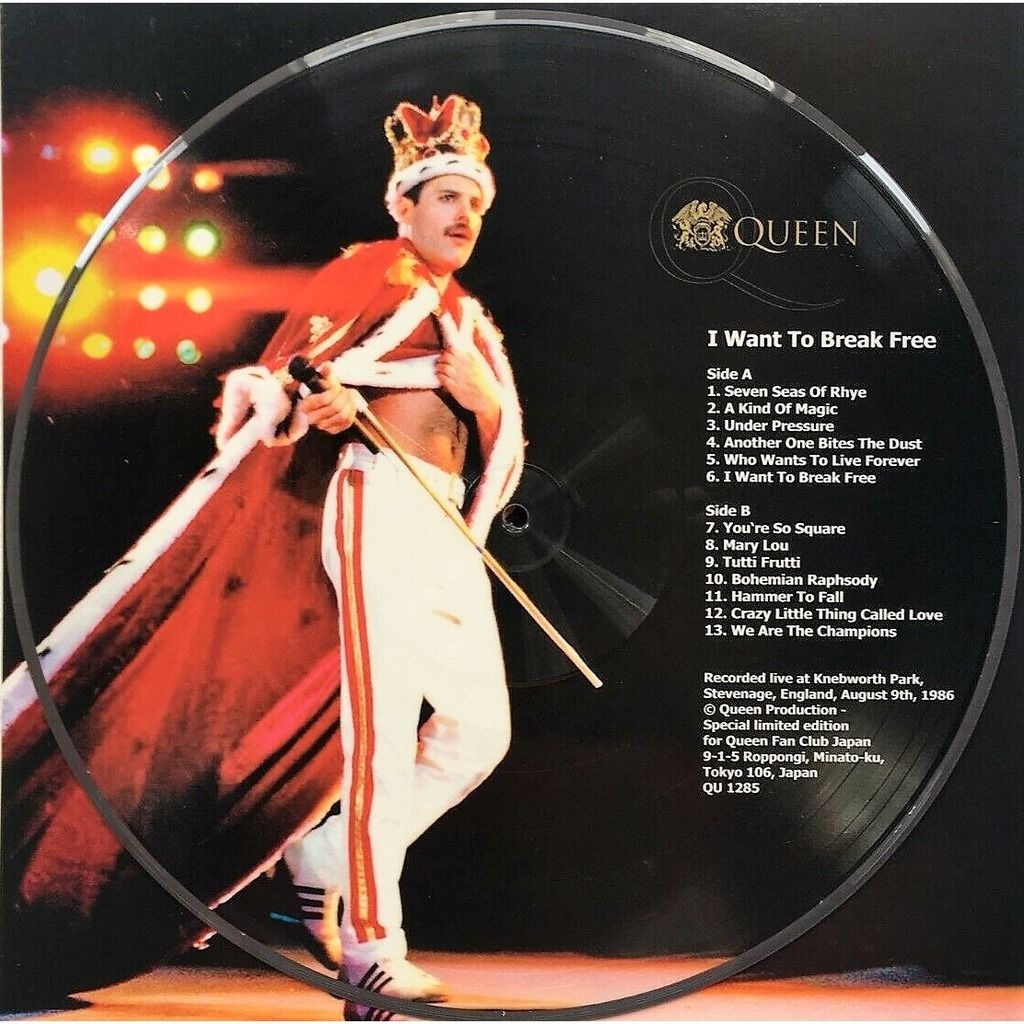 The Queen I want To Break Free (Knebworth Park UK 09.08.1986)