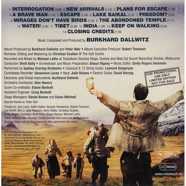 Burkhard Dallwitz The Way Back (Original Motion Picture Soundtrack)