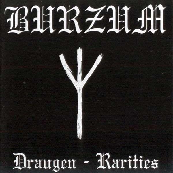 BURZUM Draugen - Rarities. Black Vinyl