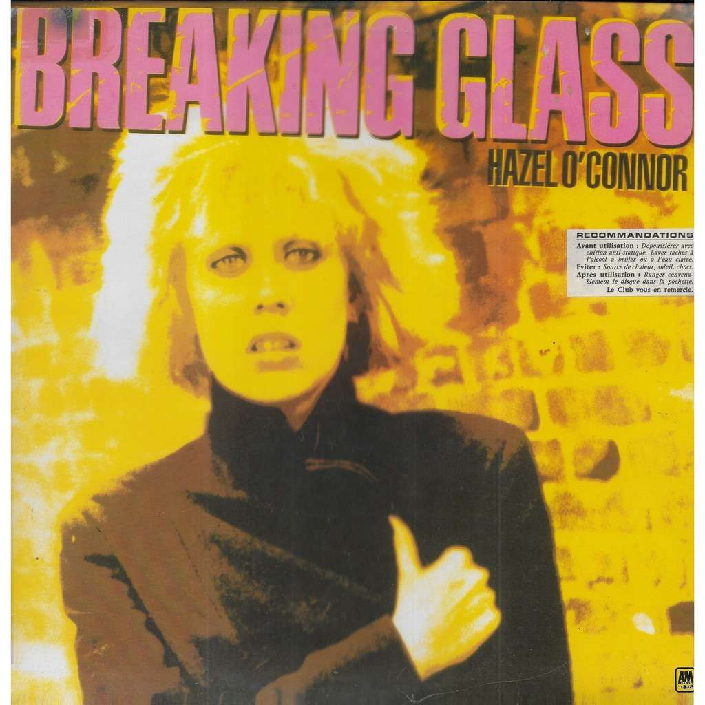 Hazel O'CONNOR Breaking Glass